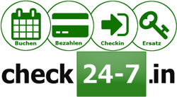 Hotel Automat Check24-7.in Logo