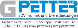 Gerhard Petter Logo