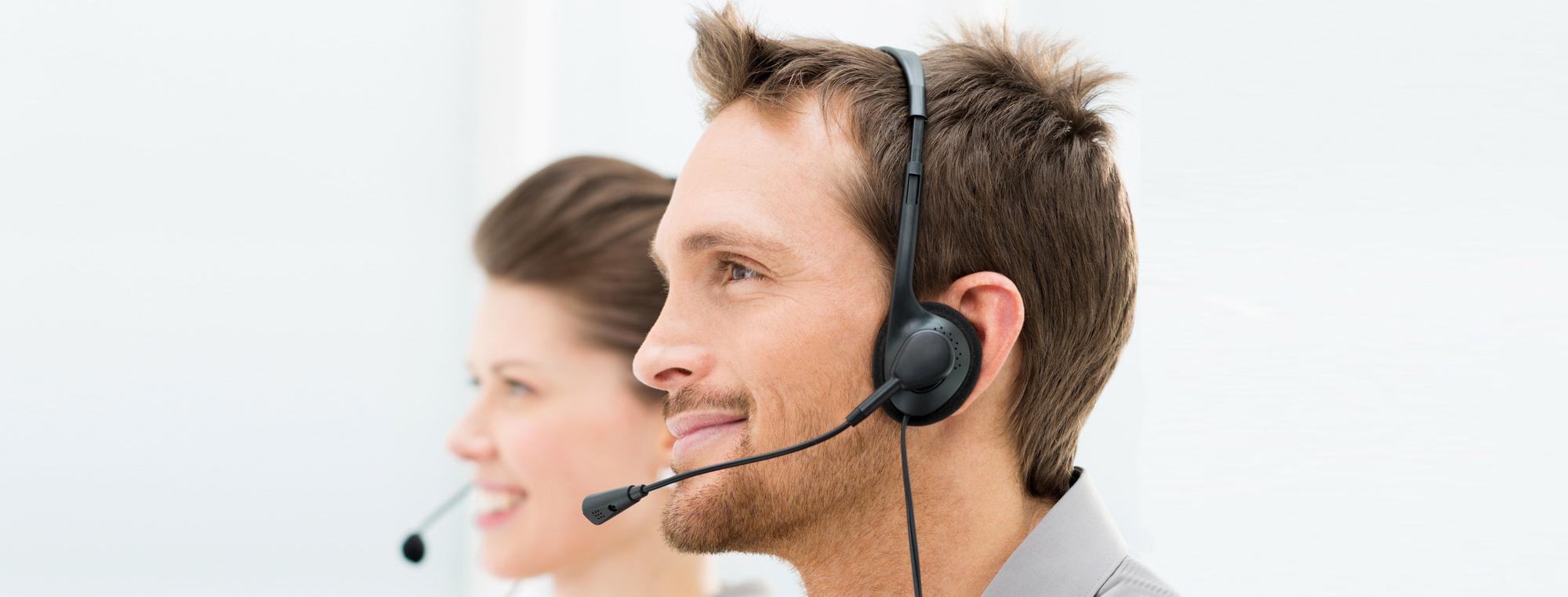 Software Support am Telefon