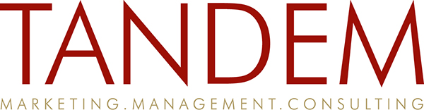 Logo Tandem Marketing. Management. Consulting.