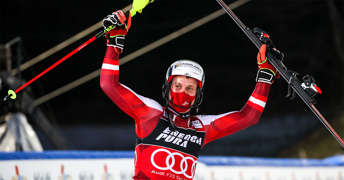 Blogbild 2 Manuel Feller Zagreb Slalom 2021