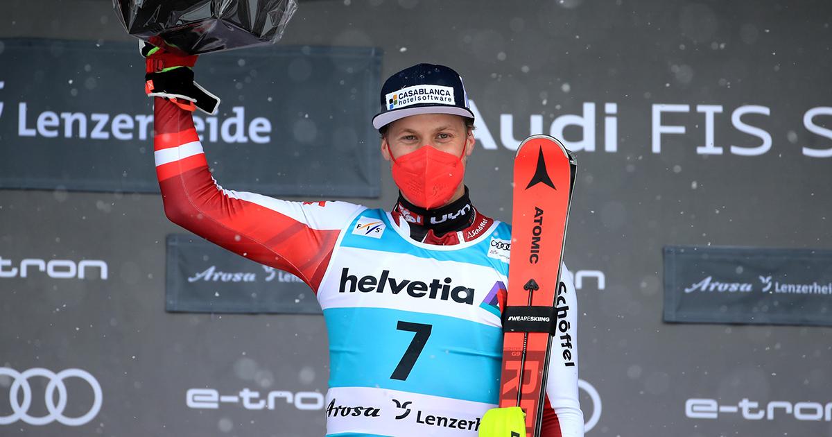 Manuel Feller Sieg Lenzerheide Slalom WC Finale