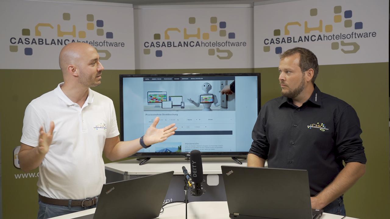 Newsroom Videochannel Homepagebuchung Teaserbild