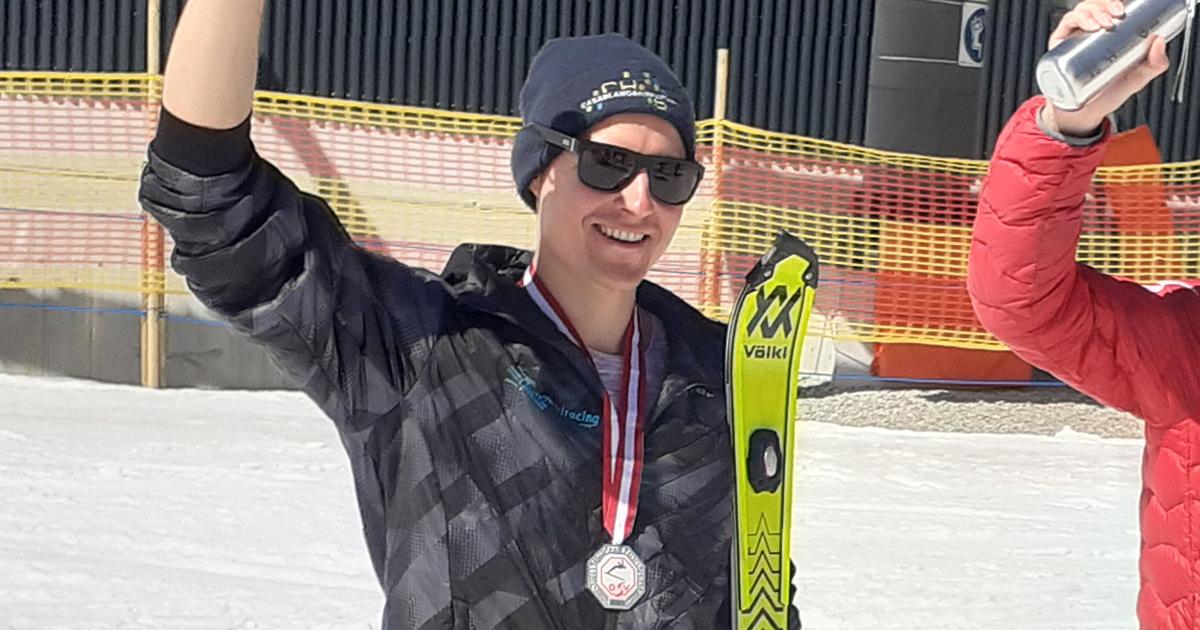 Simon Rueland österreichischer Vizemeister Slalom 2021