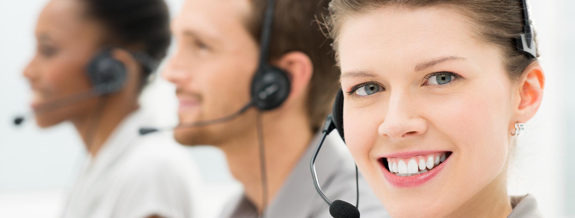 Senior Customer Support Manager bei der Arbeit